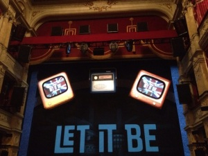 The stage is set for Let it Be