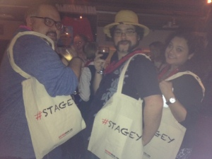 Stagey bags for bloggers