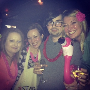Bloggers, bags and booze