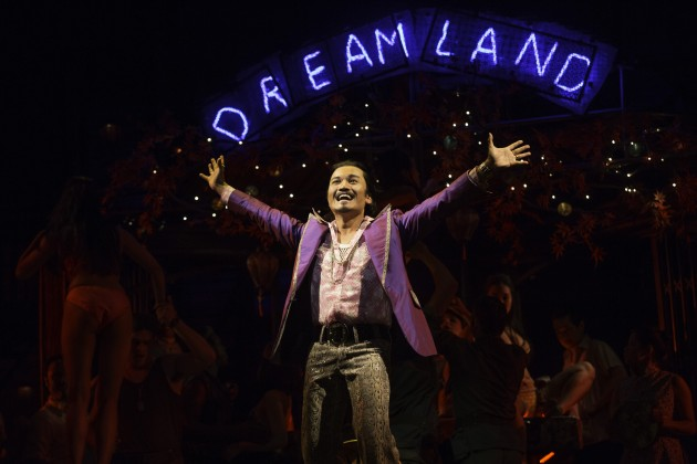 Miss Saigon - Jon Jon Briones as The Engineer - Photo credit Matthew Murphy
