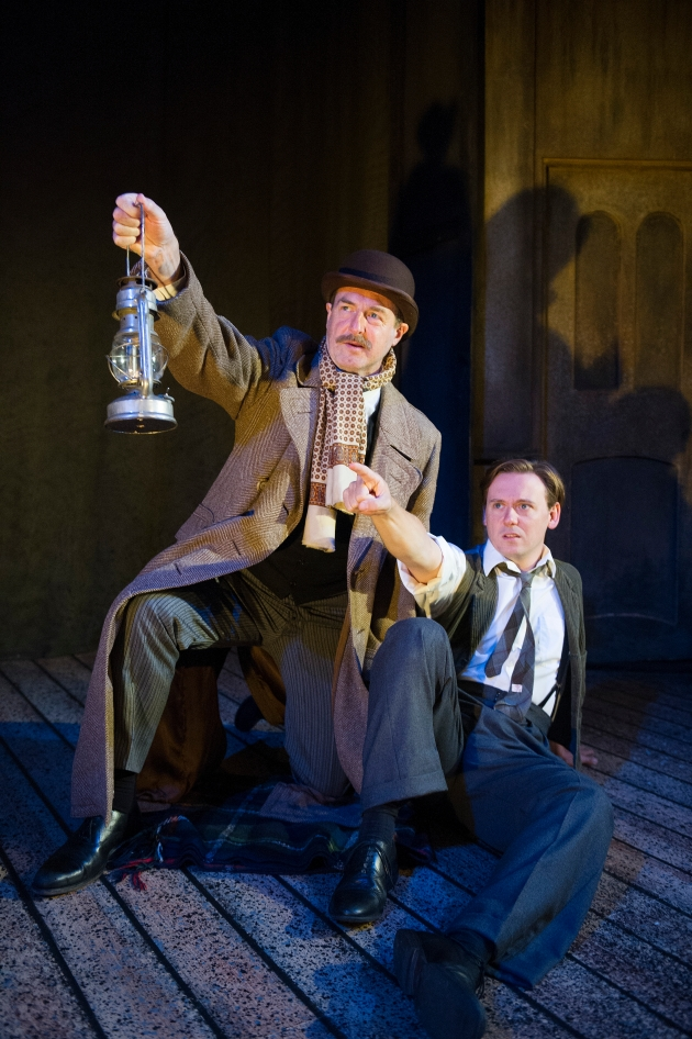 Julian Forsyth & Antony Eden in The Woman in Black